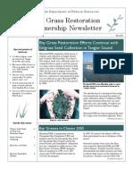 Fall 2005 Maryland Bay Grasses Newsletter