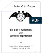M Ford the Cult of Daevayasna and Predatory Spiritualism