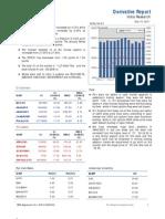 Derivatives Report 15th December 2011