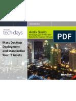 Andik Susilo - Mass Desktop Deployment and Standardize Your IT Assets