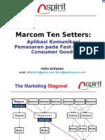marcom ten setters-aplikasi fmcg