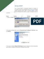 Como instalar o Serviço DHCP