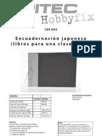 encuadernacion japonesa
