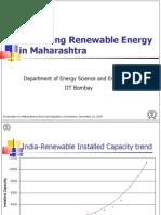 Promoting Renewable Energy in Mah