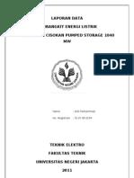 PLTA Upper Cisokan Pumped Storage 1040 Mw2