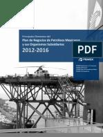 Principales Elementos Del Pn 2012-2016PEMEX