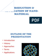 Introduction & Application of Nano-materials-part-1
