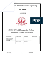 Java Lab Manual