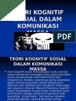 teori kognitif sosial dalam komunikasi massa