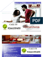 Civitech best apartments @ 9266155455