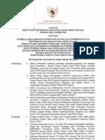 KEP-236-2011 Pendelegasian Kewenangan Meneg BUMN