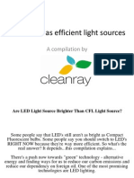 CFL LED Technology Presentation