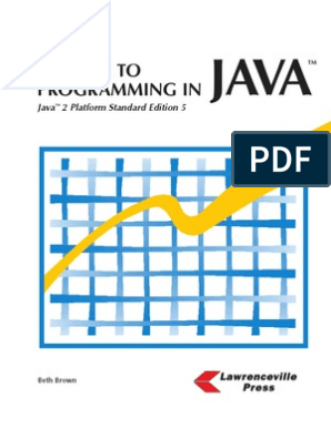 A Guide to Programming in Java   Operating System   Class