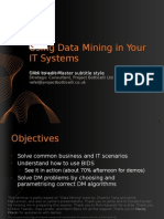 4 Using Data Mining in Your IT Systems