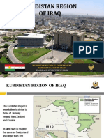 KURDISTAN REGIONAL GOVERNMENT REPRESENTATION IN SPAIN TRADE AND INVESTMENT DESK