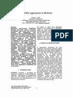 BioMEMS Applications in Medicine