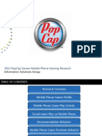 2011 PopCap Mobile Phone Games Presentation