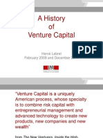 A History of Venture Capital - Lebret - Vers 1.1