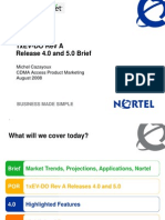 Nortel 1xEV-DO Rev a Release 4.0 and 5.0 Brief 20080815