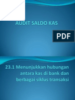 Audit Saldo Kas