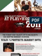 WileyX Outdoor Catalog 2011