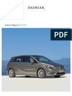 Daimler Q3 2011 Interim Report