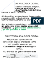 Modulo 5 Conversion Analogica Digital
