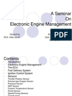 Electronic Engine Management