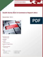 Brochure & Order Form_South Korea B2C E-Commerce Report 2011