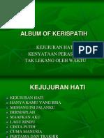 Album of Kerispatih by Fariz Fairuz
