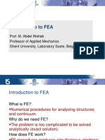 Week 9_Introduction to FEA