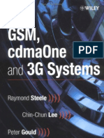 Wiley - GSM, CdmaOne and 3G Systems