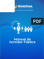 Manual do Servidor Público do Estado de RO