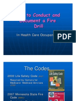 How to Conduct and Document a Fire Drill