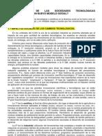 TEMA 1. Características sociedades tecnológicas avanzadas