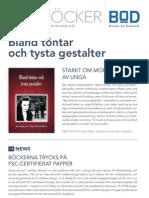 BoD Nya Böcker, vinter 2011/2012
