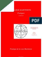 College Martiniste Pratiques Livre I