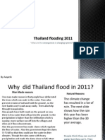 Why Thailand flooded in 2011