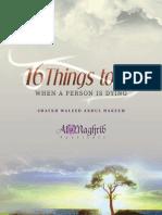 16 Things Book