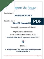 Rapport de Stage- STEG (1)