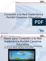 Conexion a La Red Inalambrica Portatil Canaima Educativo