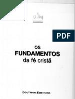 Os Fundamentos da Fé Cristã