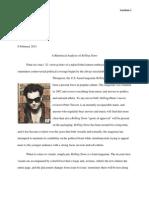 Rolling Stone - Rhetorical Analysis