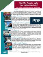 Exit Flyer for Listing Presentation