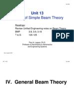 Beam Theory