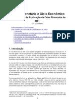 Política Monetária e Ciclo Económico