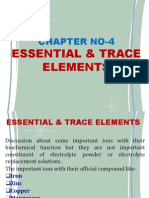 Essential & Trace Elements