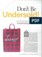 01 Don't Be Undersold!!
