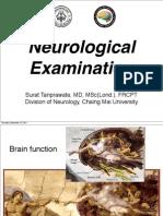 Neurological Examination, Med Stud 3