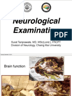 Neurological Examination, Med Stud 3